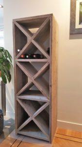 Wijnkast steigerhout