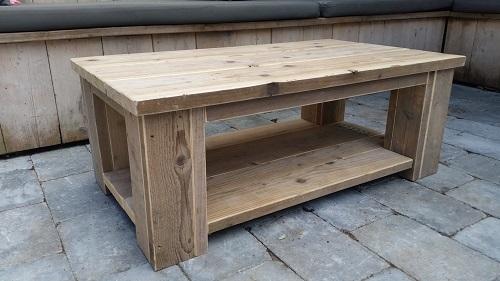 Tafels - salontafels steigerhout