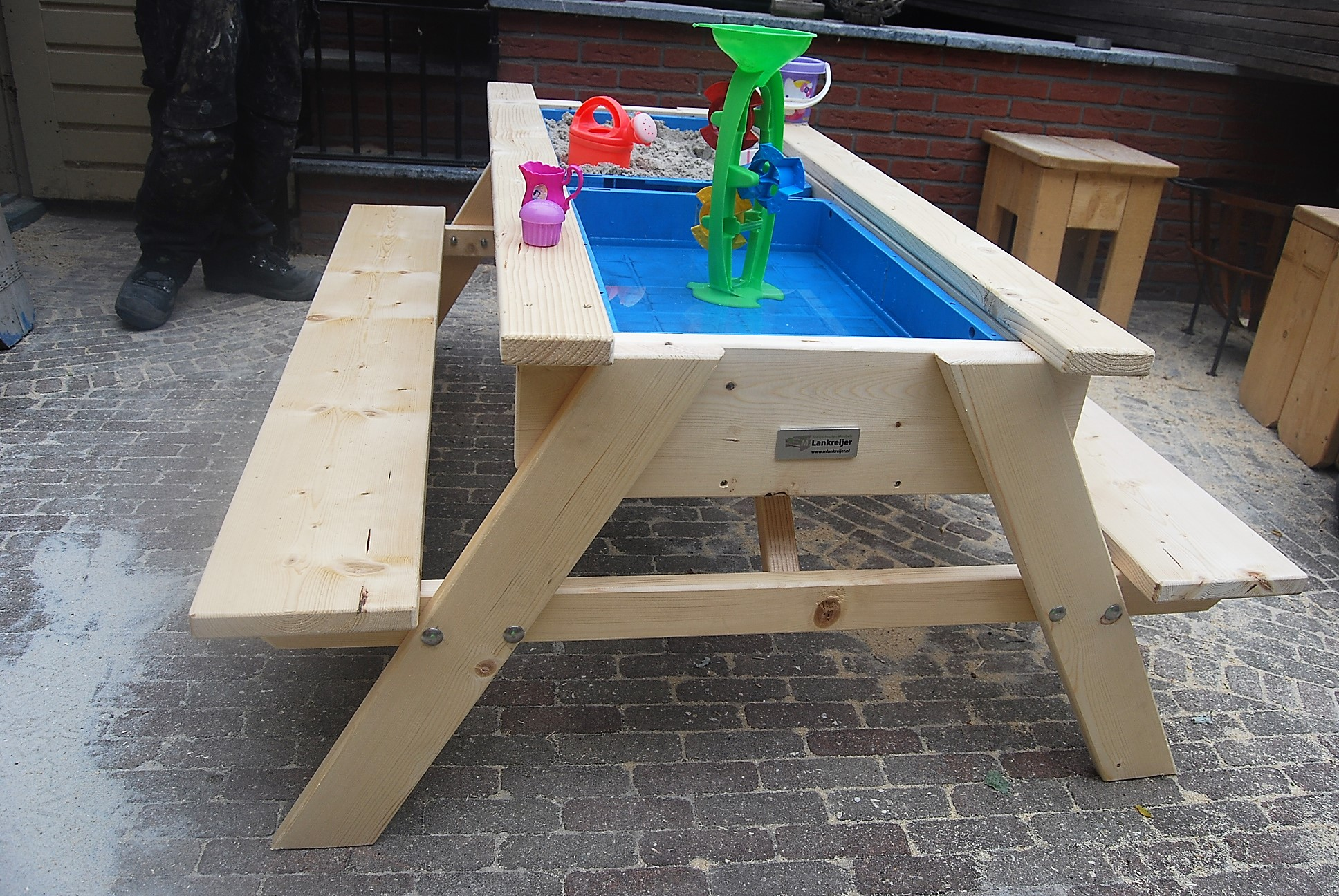 Zand En Watertafel Ook In Picknick Uitvoering Lankreijer